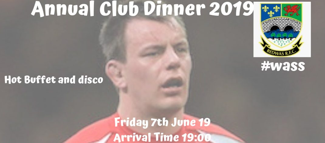 Club Dinner tickets now on sale