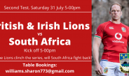 South Africa v British and Irish Lions-Second Test