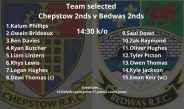 Bedwas RFC 2nd XV play first game